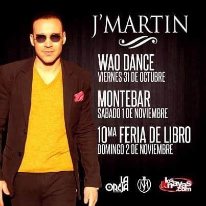 J'Martin Confirms Tour in Dominican Republic