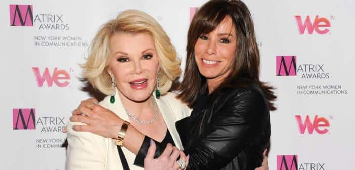 Joan Rivers Autopsy Report Revealed and Melissa Rivers Releases Statement