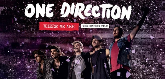 """""""One Direction:  Where We Are - The Concert Film"""" Getting Bonus Day For The Fans"""