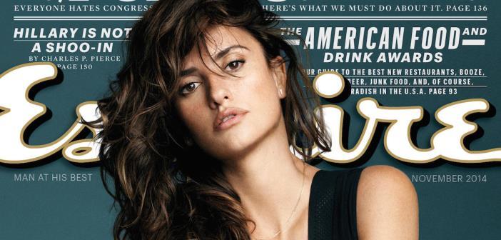 Esquire Names Penelope Cruz The 2014 'Sexiest Woman Alive' 1