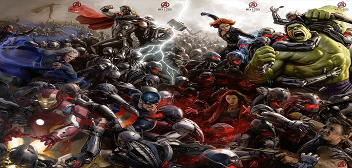 Avengers: Age of Ultron Trailer – Official – Marvel 2015