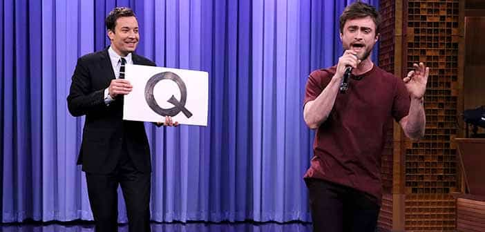 Daniel Radcliffe Shows Unexpected Raps Skills with Jimmy Fallon