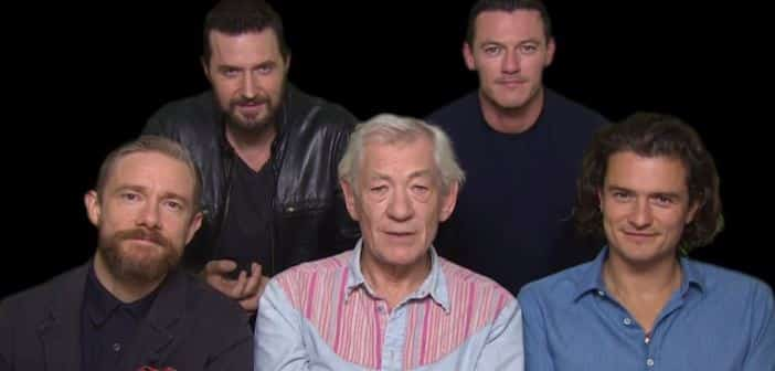 The Cast Of THE HOBBIT: THE BATTLE OF THE FIVE ARMIES Announce World Premiere