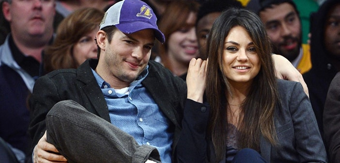 Ashton Kutcher and Mila Kunis Welcome Baby Girl Into Their Lives