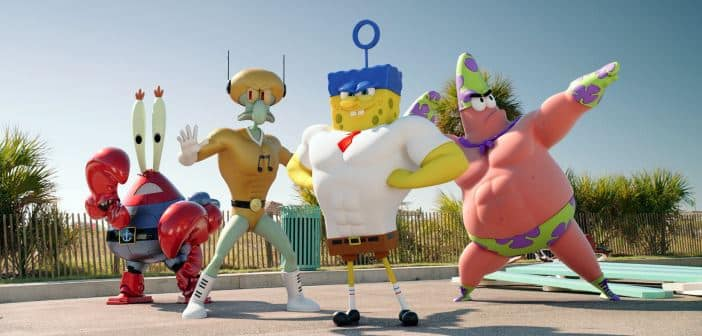 SPONGEBOB ¨SPONGE OUT OF WATER-  New Poster and Trailer Available! 2
