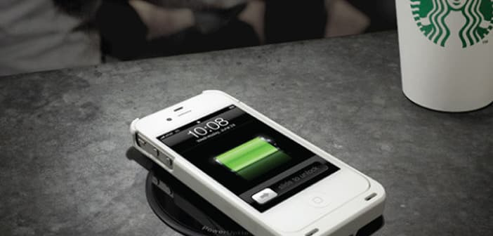 StarBucks Incorprates New Wireless Charging  For Smartphones