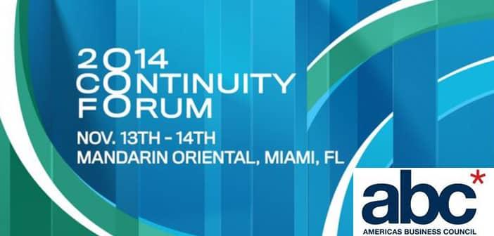 abc* Foundation Awarding $100,000 Prizes Entrepreneurs At 2014 Continuity Forum