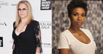 Barbra Streisand and Jennifer Hudson