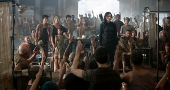 JENNIFER LAWRENCE in THE HUNGER GAME- MOCKINGJAY — PART 1