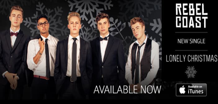 """Listen To New Holiday Single from Rebel Coast """"Lonely Christmas"""" 1"""