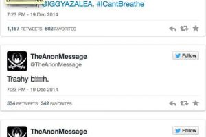 Anonymous Earns Twitter Suspension For Threatening Iggy Azalea 1