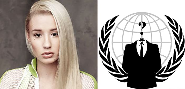 Anonymous Earns Twitter Suspension For Threatening Iggy Azalea 7