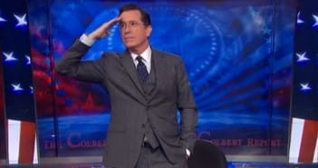 Final Colbert Report goodbye