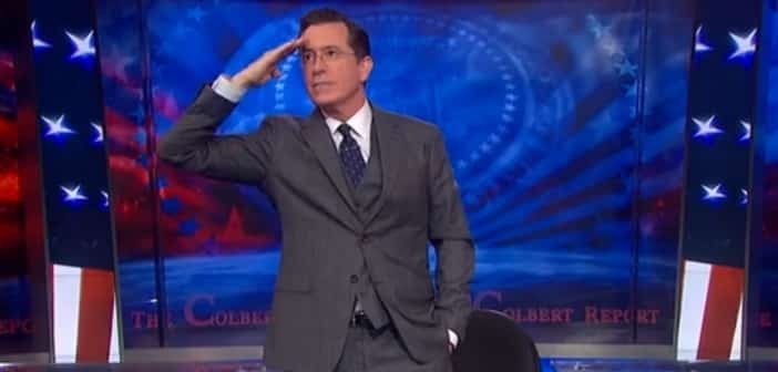The Colbert Report's And Steven Colbert Give Us One Last Send Off