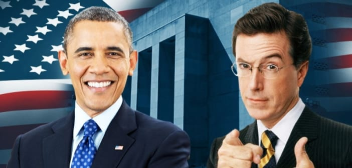 'Colbert Report' Will Rcieve President Obama For Special Interview