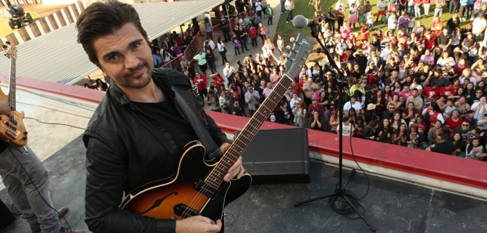 "DISNEY'S ""McFARLAND, USA"" Debuts Original New Song By Latin Rock Superstar Juanes"