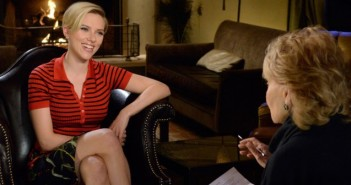 Scarlett Johansson and  Barbara Walters
