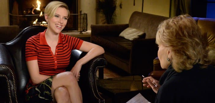 Scarlett Johansson Doesn't See Herself As A Sex Symbol