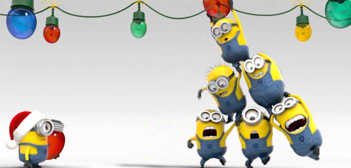 Celebrate The Holidays With The Minions!