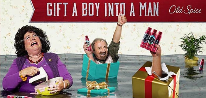 OLD SPICE Holiday Campaign & Coupons 3
