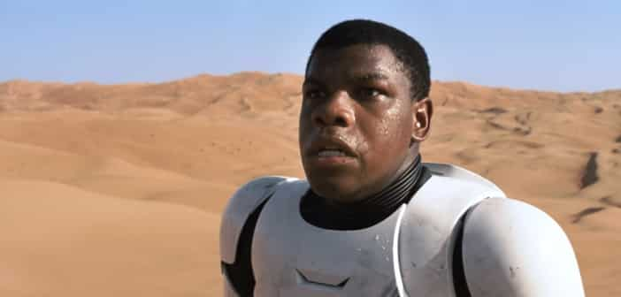 Black-Stormtrooper Critics Haven't Ruffled John Boyega At All
