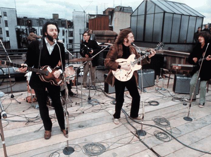 Beatles Apple Rooftop