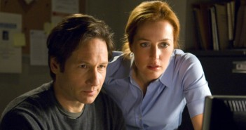 David Duchovny and Gillian Anderson-x files