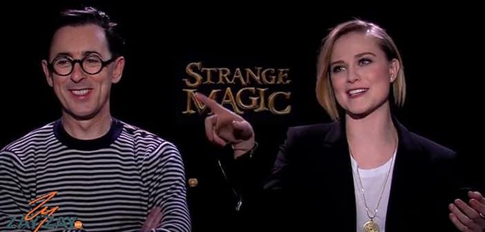 Strange Magic - Evan Rachel Wood & Alan Cumming - ZayZay.Com