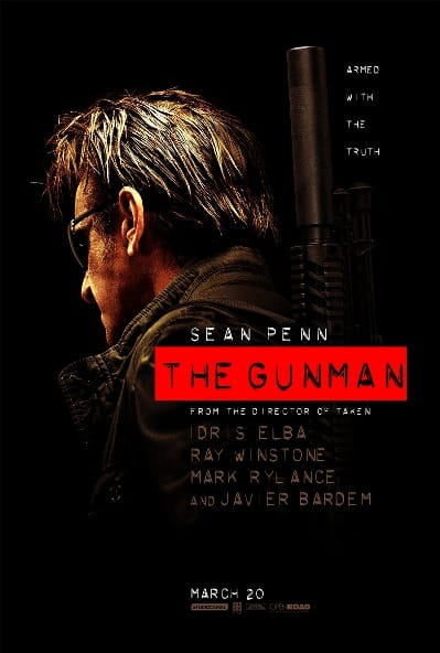 THE-GUNMAN -Teaser Poster
