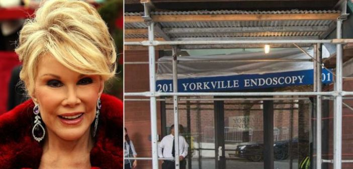 Joan Rivers' Passing Causes The Clinic That Treated Her To Lose Accreditation 2