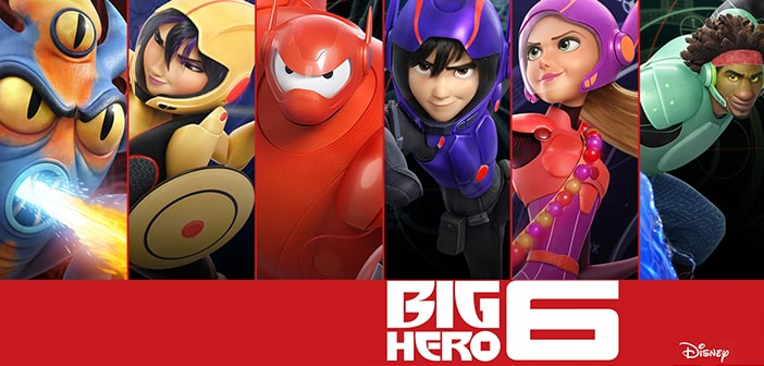 Bring BIG HERO 6 Home on Blu-ray™ on February 24th 2