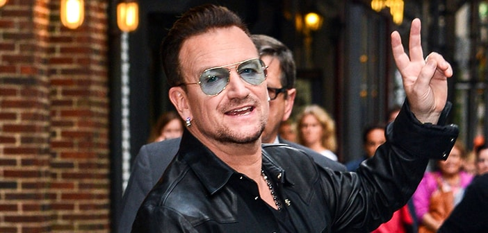 Cycling Accident May Leave Bono Unable To Play Guitar Ever Again