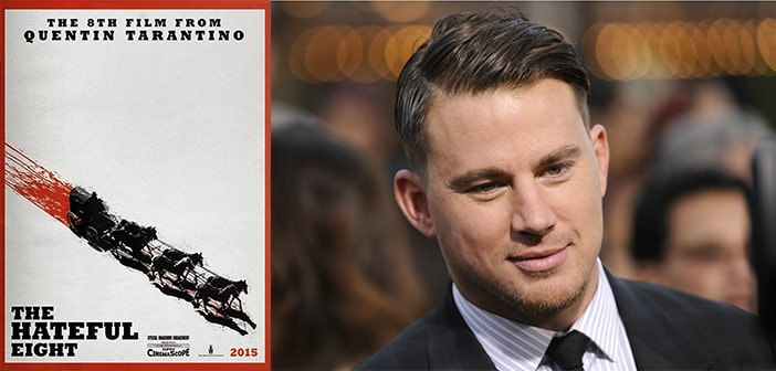 Channing Tatum to play Key Role in Quentin Tarantino's 'The Hateful Eight'