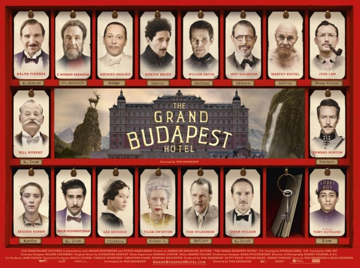 grand budapest hotel large poster