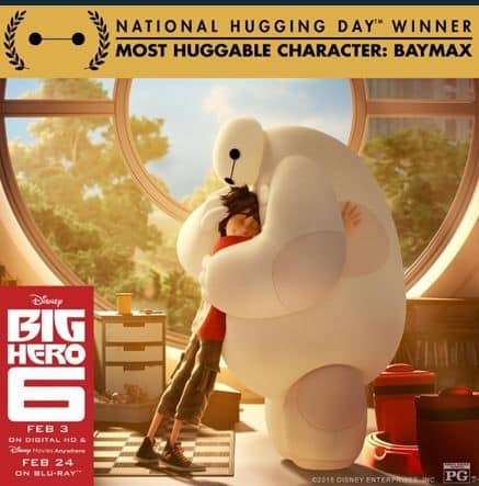 hug baymax big hero 6