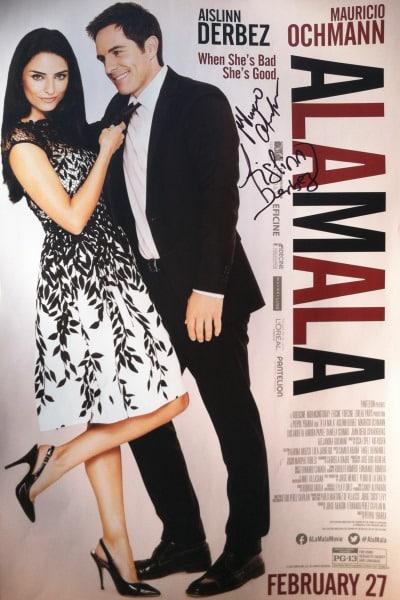 Al La Mala Signed Poster