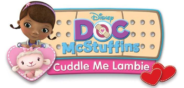 DOC MCSTUFFINS: CUDDLE ME LAMBIE - DVD Giveaway
