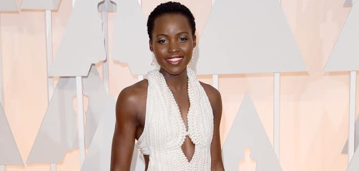 Lupita Nyong'o's $150,000 Pearl Dress Was Stolen 2