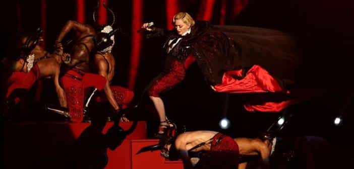 Madonna Take A Large Fall After Costume Catches During Concert