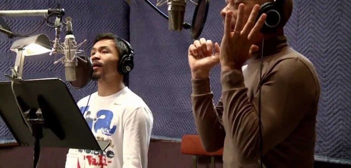 Manny Pacquiao Makes Entrance Song For Mayweather Fight
