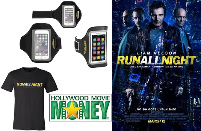 Run all Night prize pack