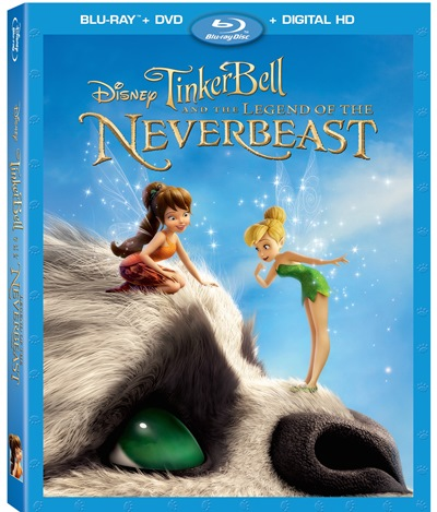 Tinker Bell And The Legend Of The Neverbeast Bluray