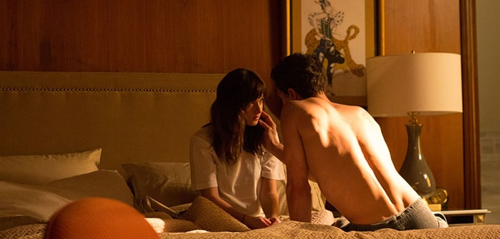 """""""50 Shades"""" Blazes Its Way To Record Breaking Sales At The Weekend Box Office"""