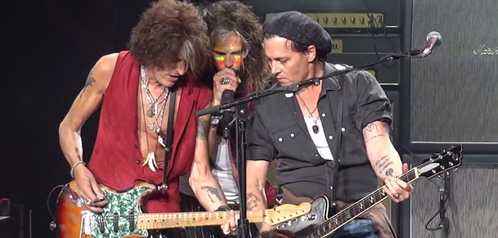 "Alice Cooper, Joe Perry, and Johnny Depp Revive Rock Band ""The Hollywood Vampires"""