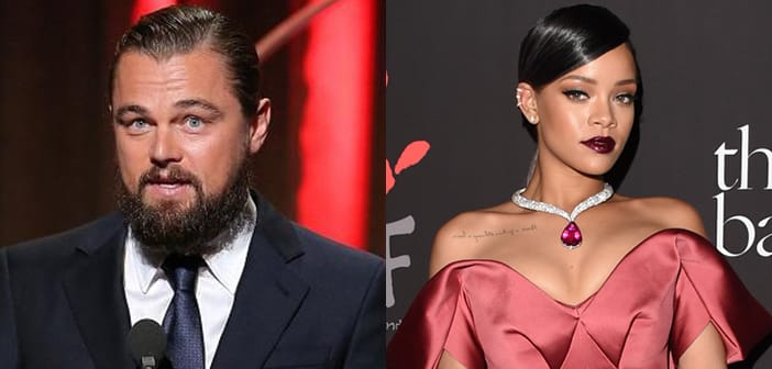 Rihanna's Birthday Party Gets Make Out PDA With Leonardo DiCaprio