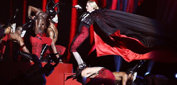 Madonna Working Through Whiplash Injury After Concert Fall
