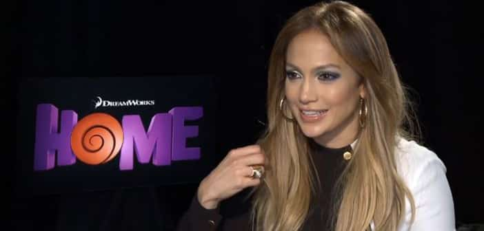 """Interview - Jennifer Lopez Interview on releasing her first English ballad for """"HOME"""""""