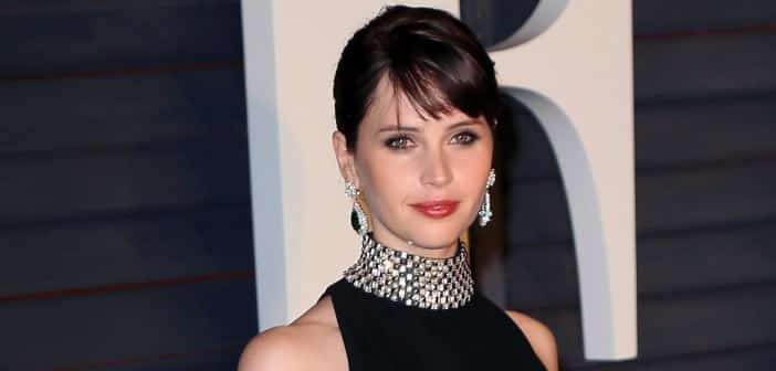 Felicity Jones Will Be Featured In  ROGUE ONE; The First STAR WARS Stand Alone Film