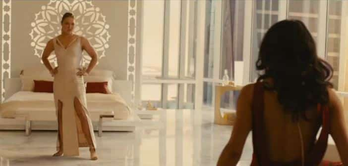 FURIOUS 7 - Michelle Rodriguez vs. Ronda Rousey new fight clip