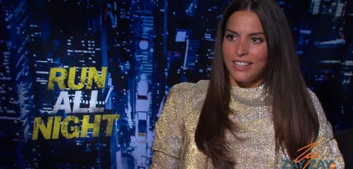 Genesis Rodriguez Interview - Run All Night - ZayZay.Com